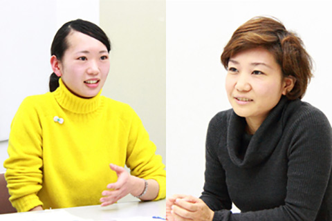 vol.17 SICF受賞者特別対談 <br>okada mariko × 栗栖良依